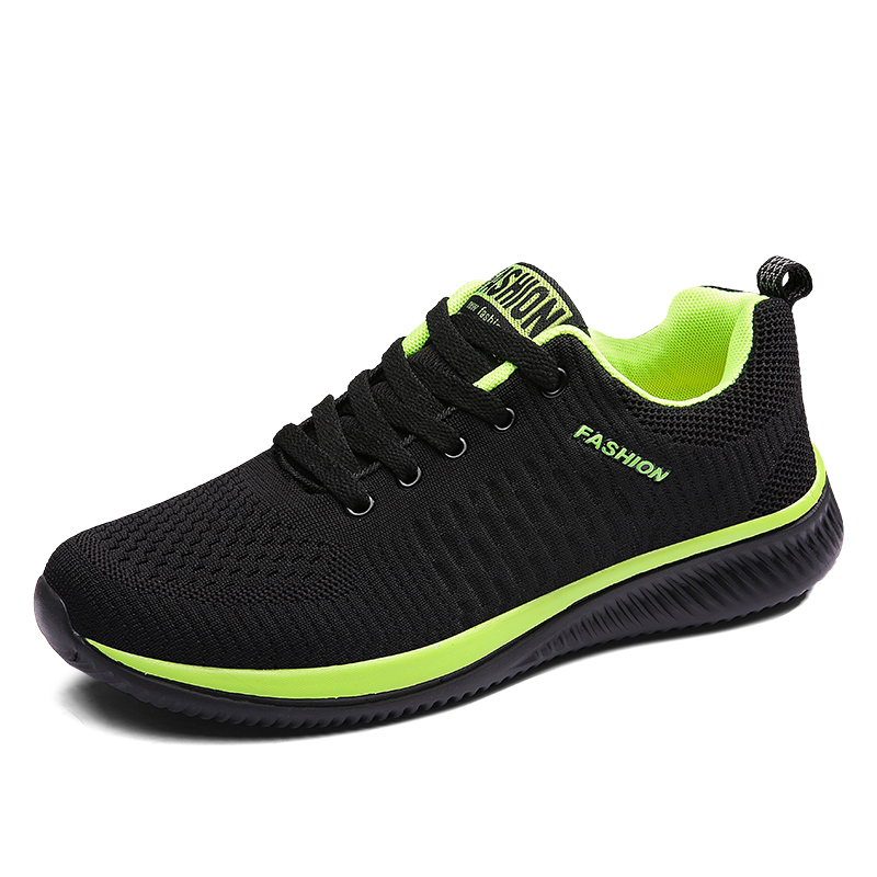 2019New Mesh Men Casual <font><b>Shoes</b></font> Lac-up Men <font><b>Shoes</b></font> Lightweight Comfortable Breathable Walking Sneakers Tenis Feminino Zapatos image