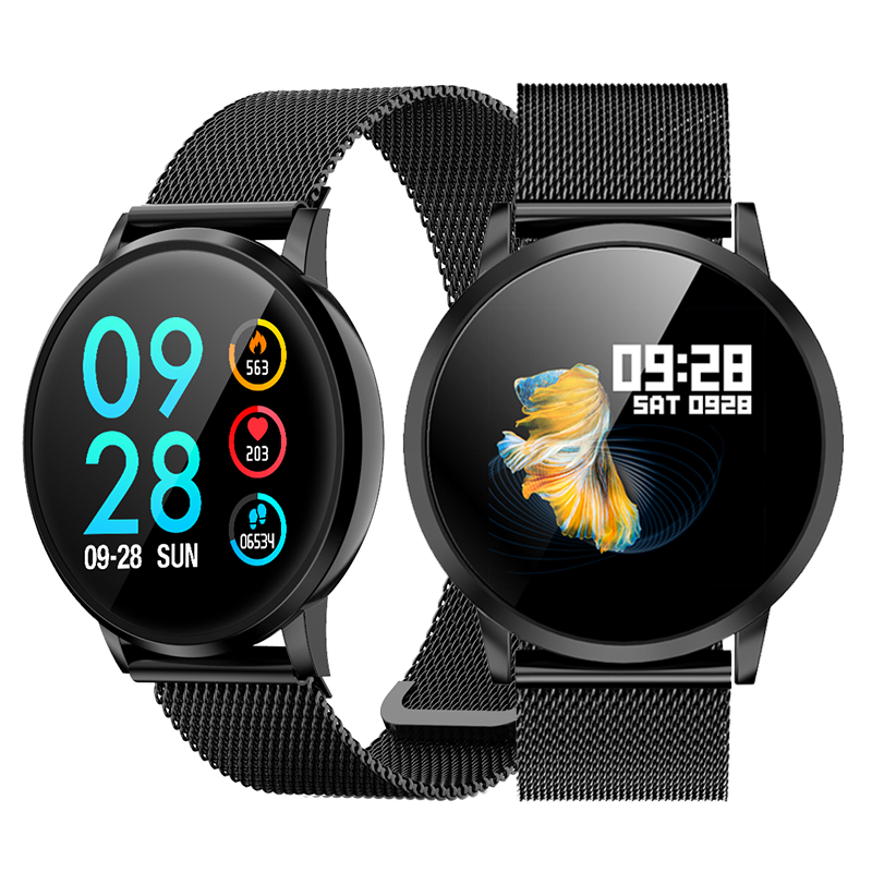 Fitness Smart Watch Men Women Heart Rate Monitor HD Touch Screen Sport IP68 Waterproof Smart Watches Clock for iPhone Android