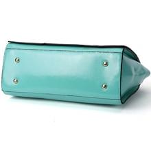 ESUFEIR Brand Panelled PU Leather Women Handbag Multicolor Patchwork Shoulder Bag Women Bag Classic Tote Female Crossbody Bag
