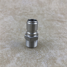 2PCS/LOT Stainless Steel Male Quick Disconnect Set, 1/2 NPT for Homebrew beer Hardware Fitting