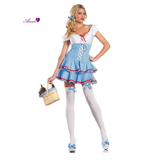Sweet Dorothy Adult Womens Wizard Of Oz Costume Rubies Womens Sexy