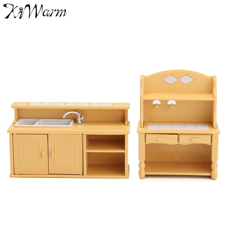 New miniatures furniture household kitchen kitchen Dressing a kitchen