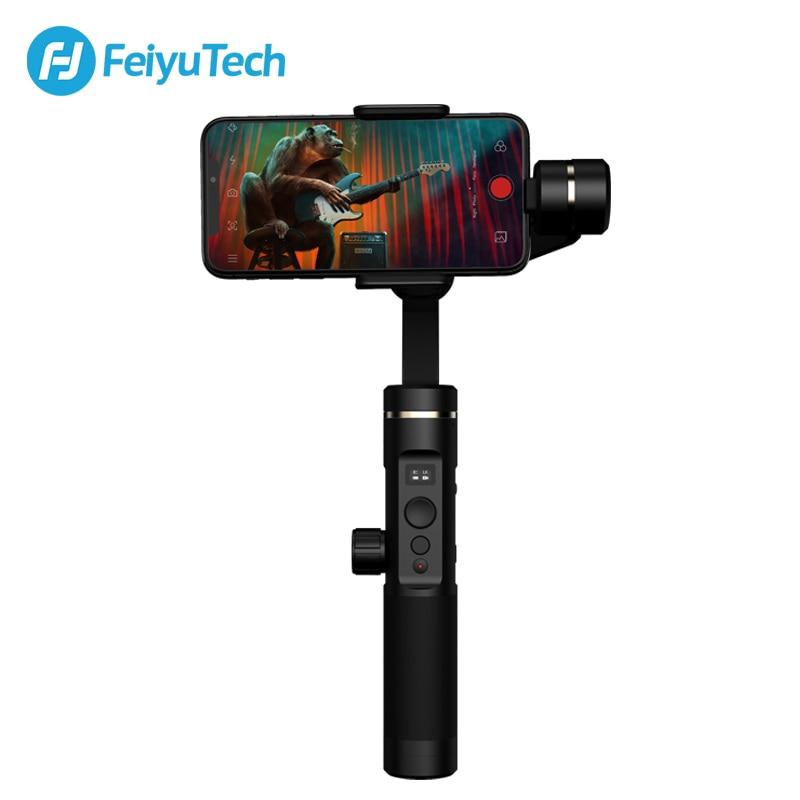 FeiyuTech SPG2 cardan 3 axes stabilisateur de poche pour Smartphone iPhone X 8 7 OPPO Samsung ViVO téléphones Smartphone résistant aux éclaboussures