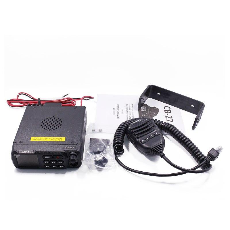 QYT CB 27 CB ラジオ 26.965 27.405 MHz AM/FM 12/24 V 4 ワット液晶画面 Shortware 市民バンドマルチ規範 CB 移動無線  グループ上の 携帯電話 & 電気通信 からの トランシーバー の中 3