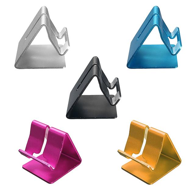 Universal Aluminium Alloy Mobile Phone Holder Telefon Tutucu Para Celular Suporte
