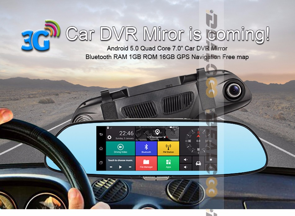 3G-car-DVR-mirror-camera-dual-lens_01-BT 16g 1g ddr