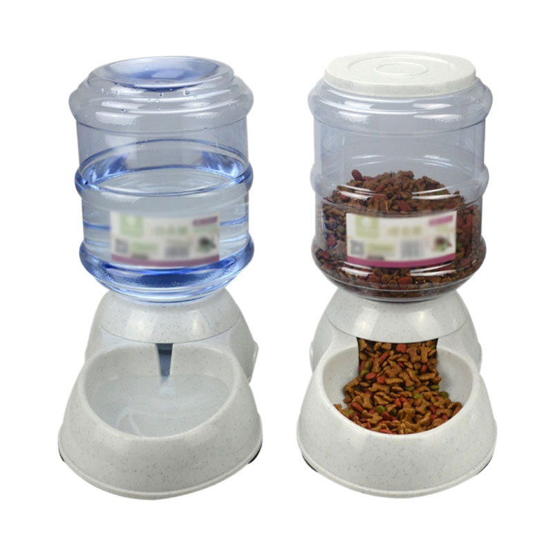 3.5L Dog Automatic Feeders Drinking Bowls For Cats Food Trough For Dogs Water Drinker Bottle Bowls For Cats Water Dispensers