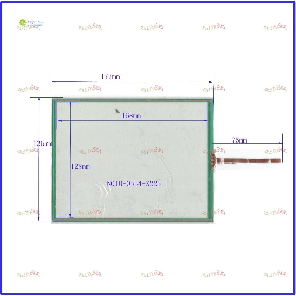 все цены на ZhiYuSun N010-0554-X225 177mm*135mm 8inch 4 line touch screen panel 177*135 Sensor glass Compabible for GPS CAR made in taiwan онлайн
