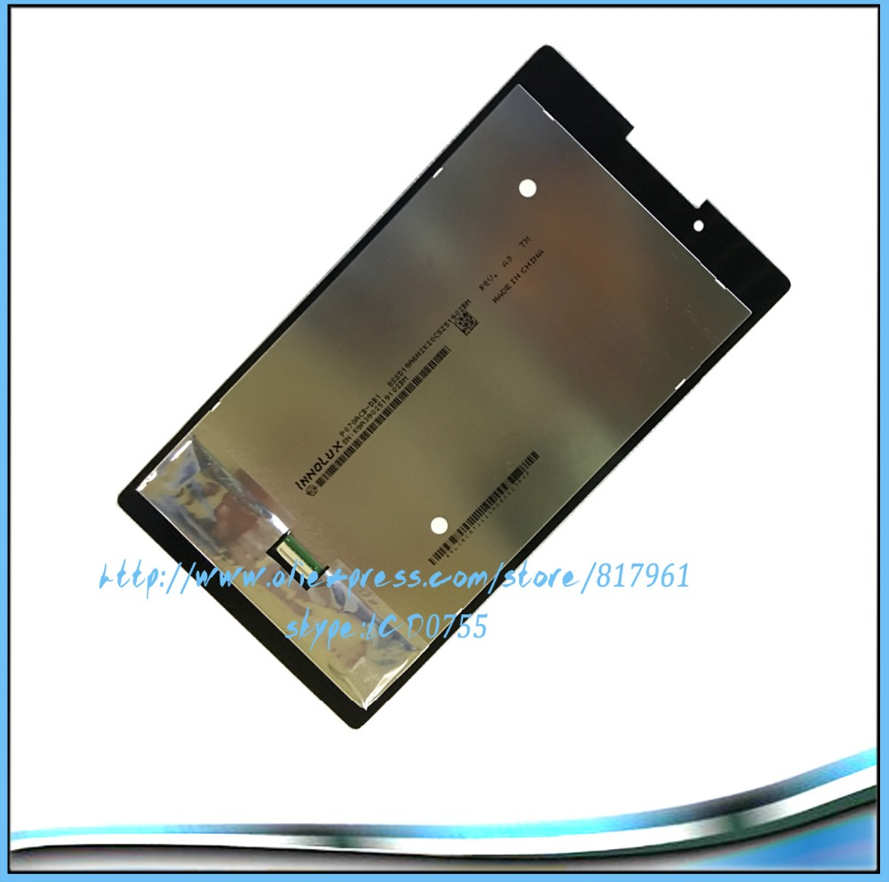 New Arrival Free Shipping 100% Original Black Color 7 Inch For Lenovo Tab 2 A7 A7 30 LCD Display With Touch Screen Digitizer