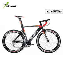 New Brand Road Cycling Bike Aluminum Alloy Frame 700CC 14 16 Speed Racing Bicycle Outdoor Sports