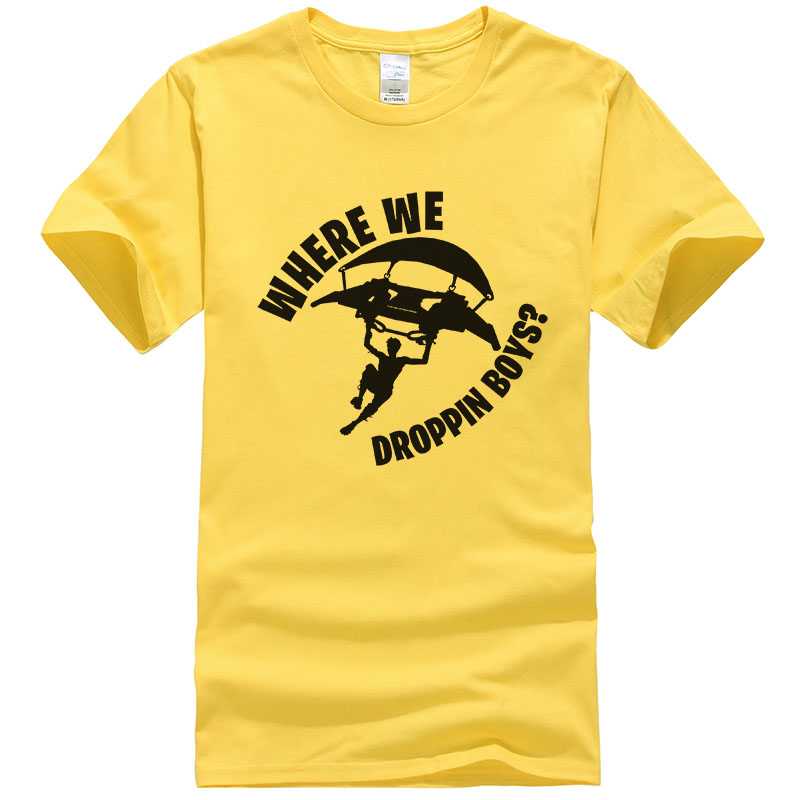 Battle Royale t shirt men Fortnit Game Men Women short sleeve brand Tops Fortniter Print Tee shirt homme camisetas T469