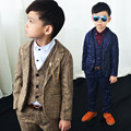Newest Children Suit Baby Boys Suits Winter Thicken Kids Blazer Boys Formal Suit For Wedding Boys Clothes