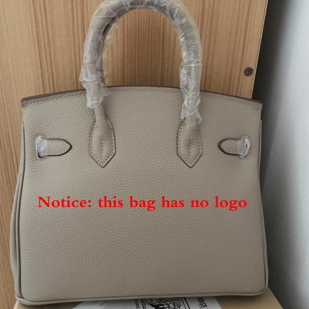 3 Size Women Lichi Leather Handbags Famous Brand Platinum Lock Bags Genuine Leather Ladies Bag Shoulder Bags Tote 25cm/30cm/35cm
