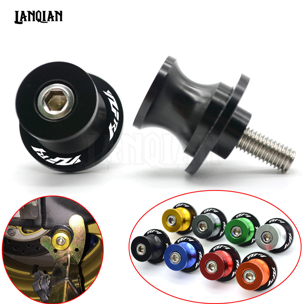 For YAMAHA YZF R1 CNC Motorcycle Swingarm Spools Slider Swing arm Stand Screws 1999-2018 2003 2004 2005 2006 2007 2008 2009 2010 цены