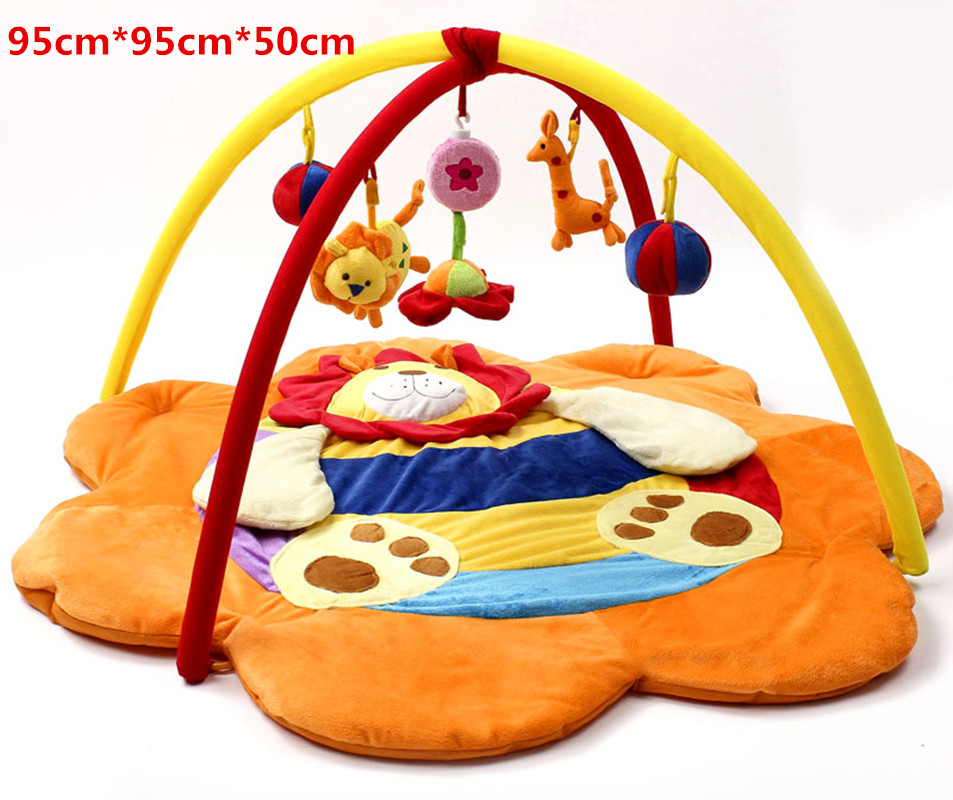 Baby Soft Play mat Game Blanket Pad Kids Play Tapaete Fitness Frame Educational Baby Toys Climb Mat Crawling Baby Gym Blanket
