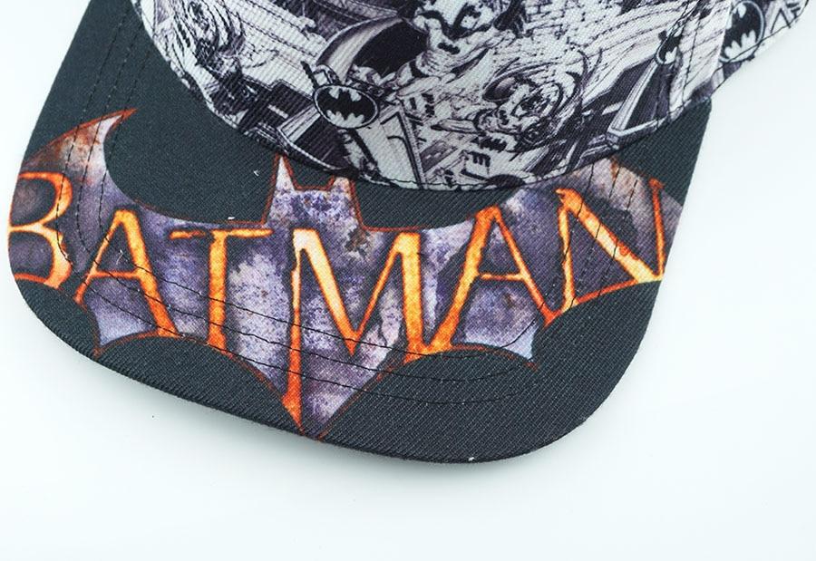 Товар Superhero Batman Hat Cotton Baseball Snapback Caps Adjustable ... ef27b257ab5d