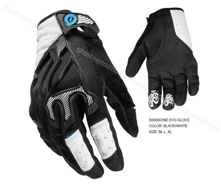 661 Sixsixone Evo Gloves 2014 Mountain Bike Downhill Dh Gloves