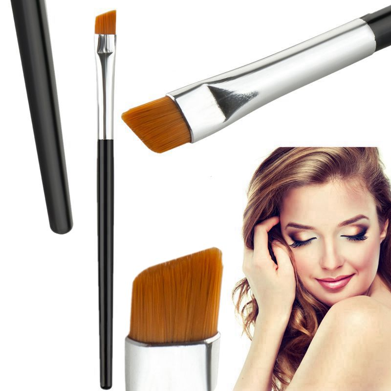 1 Piece New Fashion Professional Elite Angled Eyebrow Brush Nice Eye Liner Brow Makeup Tool