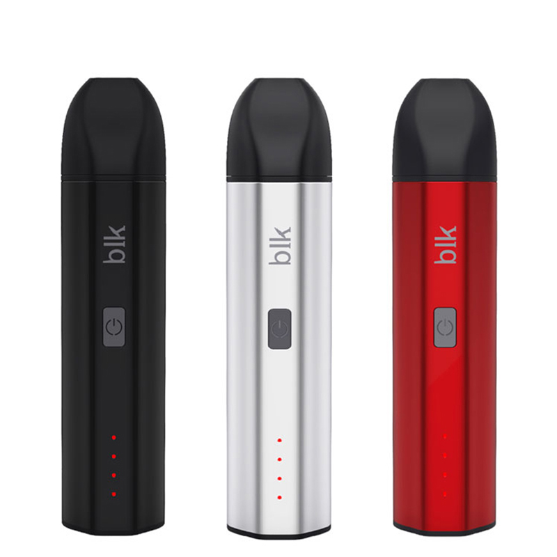 BLK Nova dry herb vaporizer Kingtons Electronic Cigarette Kit Bulit-in Battery Herbal Vape Pen e-cigarettes 1600mAh(China)