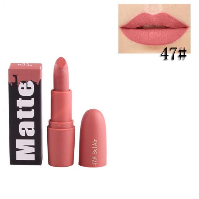 Vampire Brown matte lipstick