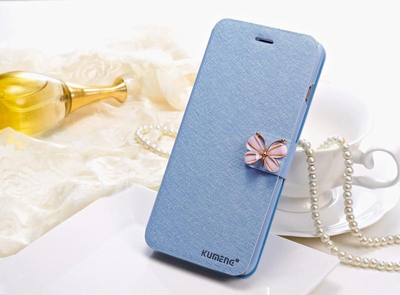 יוקרה Flip עור משי לעמוד הארנק המקרים עבור iphone 6 6 4.7