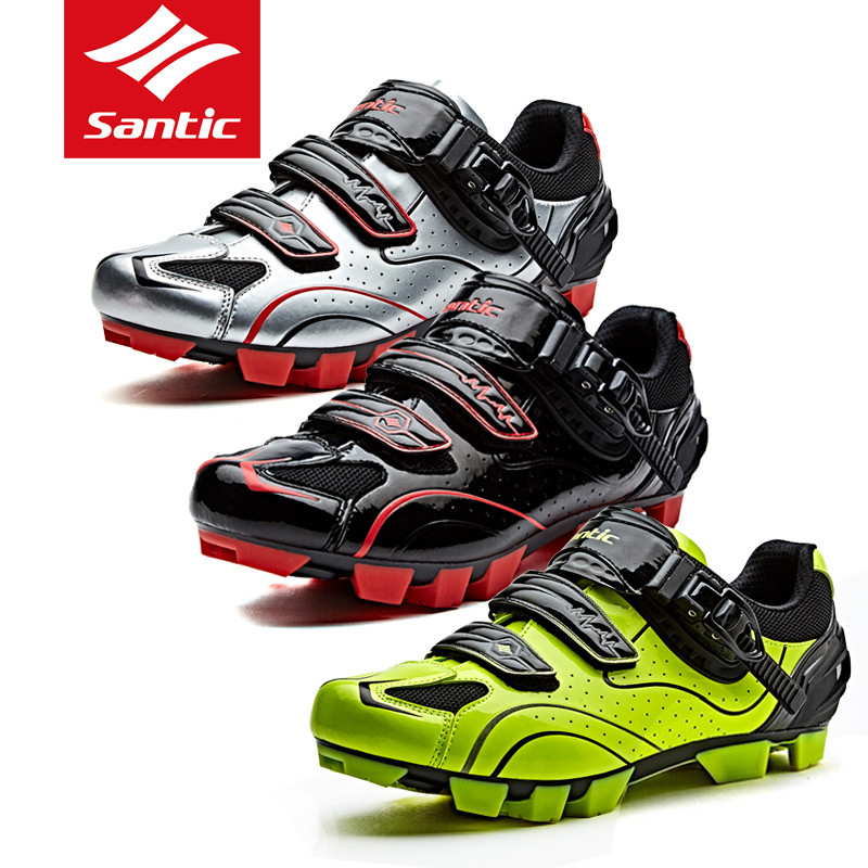 SANTIC Men Pro MTB Bike Shoes Cycling Shoes Outdoor Riding Sneakers Breathable Self-Locking Sports Mountain Bicycle Shoes topeak outdoor sports cycling photochromic sun glasses bicycle sunglasses mtb nxt lenses glasses eyewear goggles 3 colors