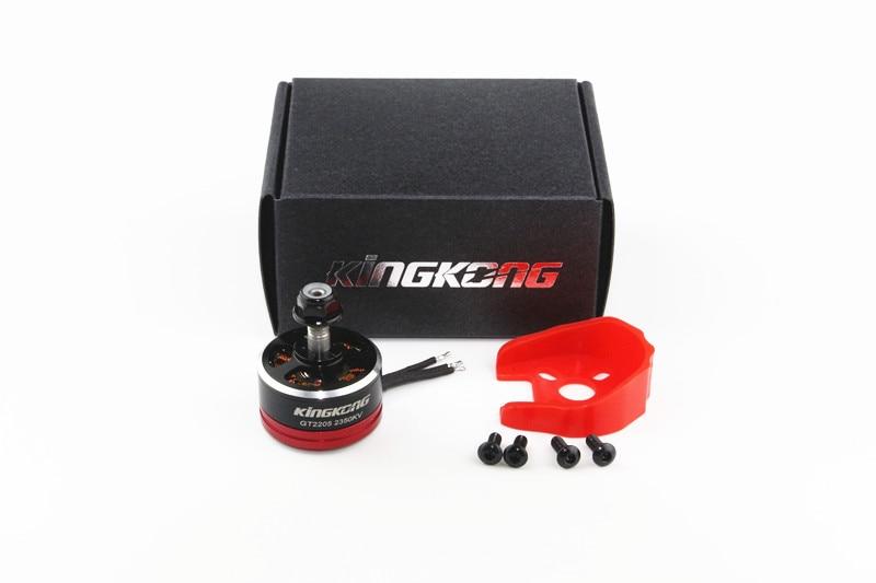 2205 GT2205 2350KV/2700KV Motor para Mini Drone 2-S 4 s Motor sin escobillas con montaje Protector de Motor para X210 280 250 220 Kit de Marco