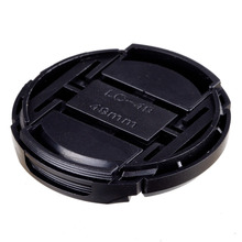NEW ARRIVAL  wholesale 50 pcs  49mm Snap-on Front Lens Cap Cover for Camera Sigma Lens free shipping