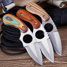 Tactical pocket knife fixed blade knifes hunting survival knives navajas supervivencia cuchillo titanio couteau facas mes messer cold steel survival knife fixed blade d2 navajas cuchillos utility tool zakmes facas tactical outdoor hunting knife