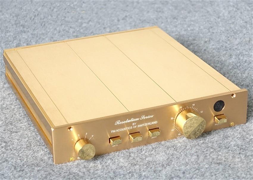 Study Copy FM ACOUSTICS FM155 pre amplifier preamp pre amp pre amplifier about 99 Direct cloning