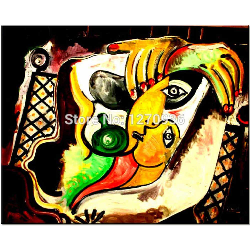 abstraktní olejomalba na plátně tenké tělo obrovská ruka červená lak na nehty černé pozadí ručně malované dekorace olejomalba