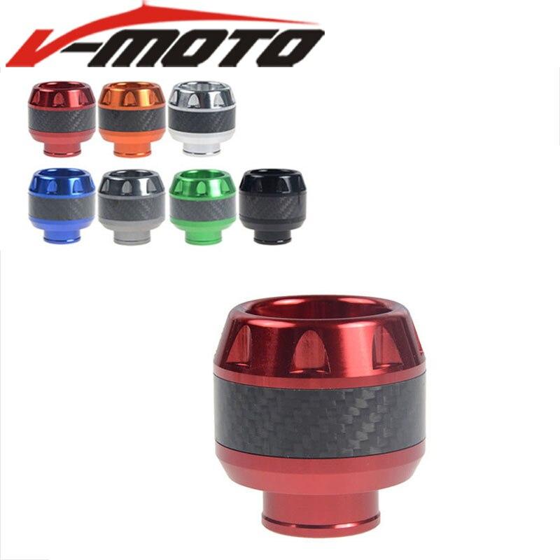 Moto universelle CNC Fourche Avant Roue Automne Protection Cadre Curseur Anti Accident Protecteur Pour Yamaha SMAX 155 NMAX 155 NVX 155
