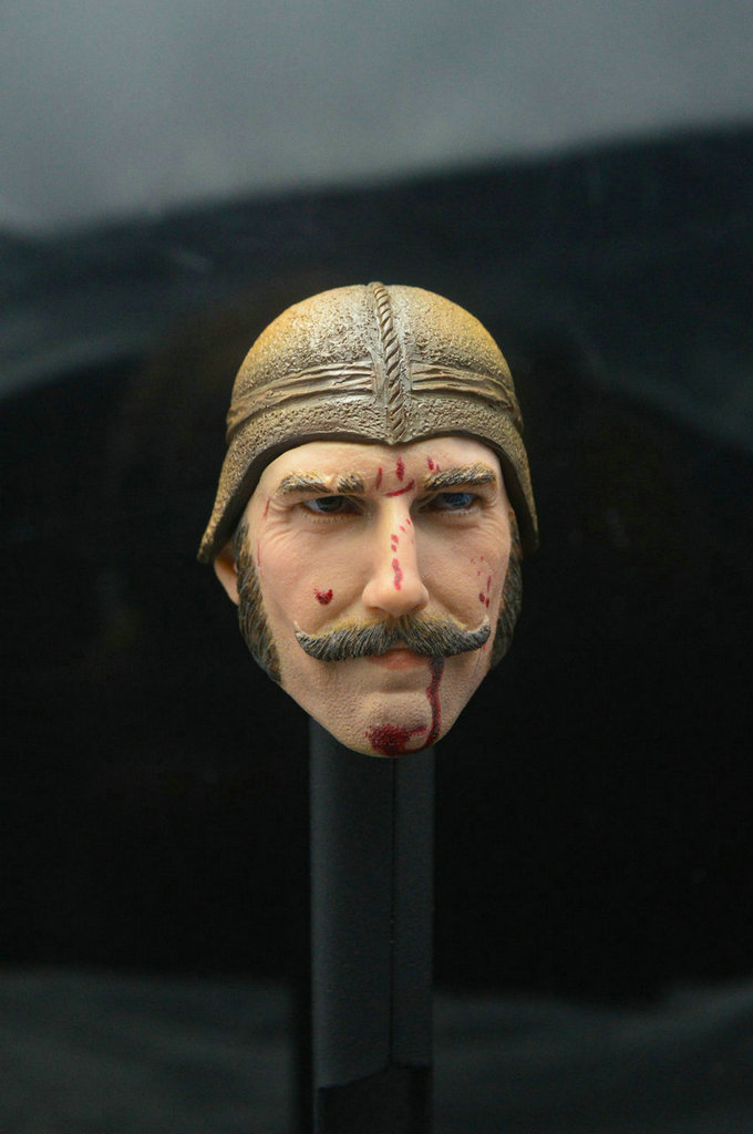 1/6 Head Sculpt Daniel Day Lewis Gangs of New York Bill