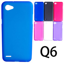 UVR Matte Soft TPU Gel Case For LG Q6 Case Dual SIM For LG Q6 Cover Mobile