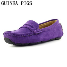 Spring and Summer Autumn Boys And Girls Shoes a Variety of Colors Wild Fashion Leather Leisure Flat GUINEA PIGS