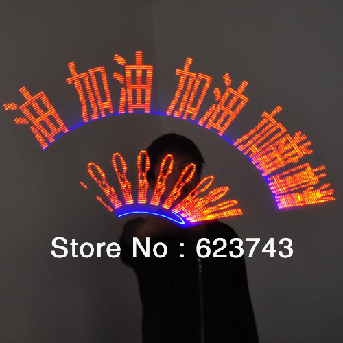 Programmable led bâton message 32 led flash bâtons Sur Mesure accessoires de Concert, lumineux Programmable palos llevo