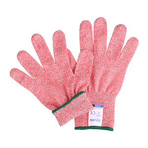 Image 3 - Cut Resistant Gloves Level 5 GMG Multicolor HPPE Food Grade For Kitchen Anti Cut Gloves Cut Proof Gloves