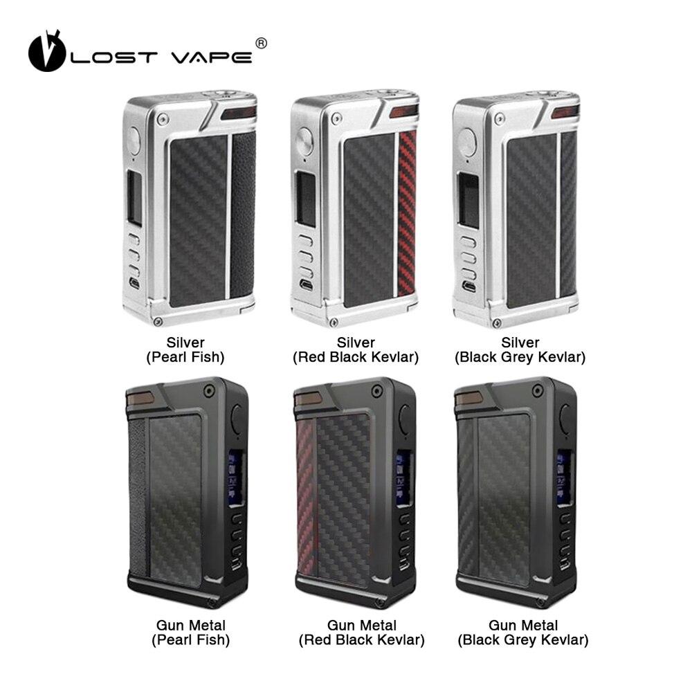 Original 200 W perdido VAPE Paranormal DNA250C TC caja Mod W/avanzados de ADN 250C Chipset Max 200 w de potencia de salida no caja de batería 18650 Mod Vape