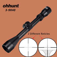 ohhunt 3-9X40 Hunting Optical Sights RifleScope Rangefinder Reticle Crossbow or Mil Dot Rifle Scope For .177 .22 Caliber Airguns