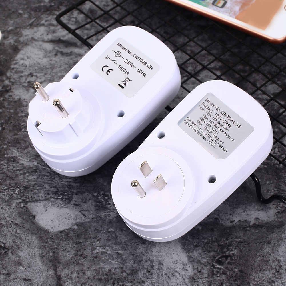 24 часа Подключите механический Заземленный программируемый энергосберегающий таймер переключатель умный переключатель с обратным отсчетом розетка Крытый автоматический выключение питания