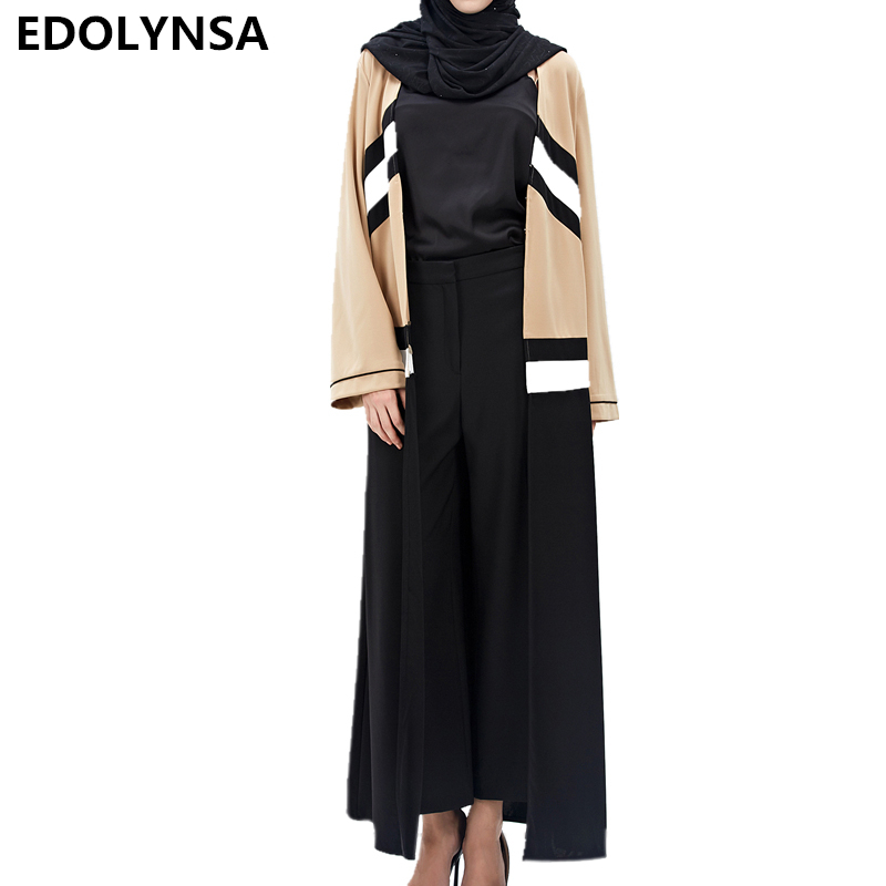 Muslim 2017 Brand Fashion Dress Abaya Vintage Kaftan Dress Abaya Dresses Casual Plus Size Robe Knitting Soft Long Dresses #D219