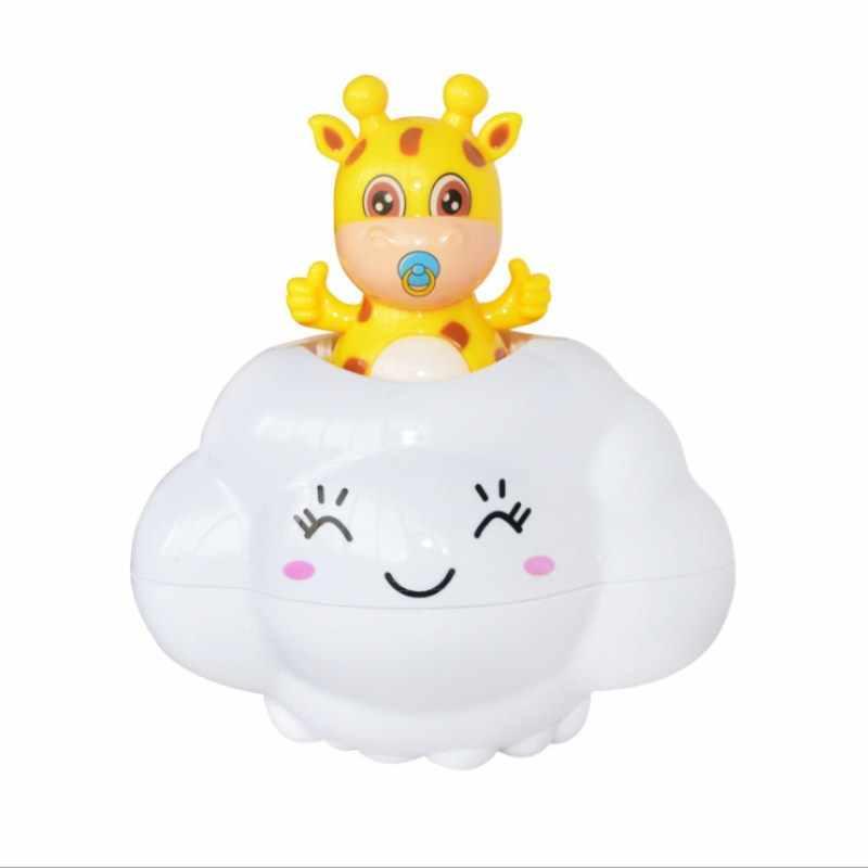 Brinquedos de banho para Crianças Banho Do Bebê Chovendo Nuvens Banhos Do Bebê Jogar Spray de Água Brinquedo de Banho Bonito Do Bebê Crianças Brinquedos De Banho Com Duche presentes dos desenhos animados