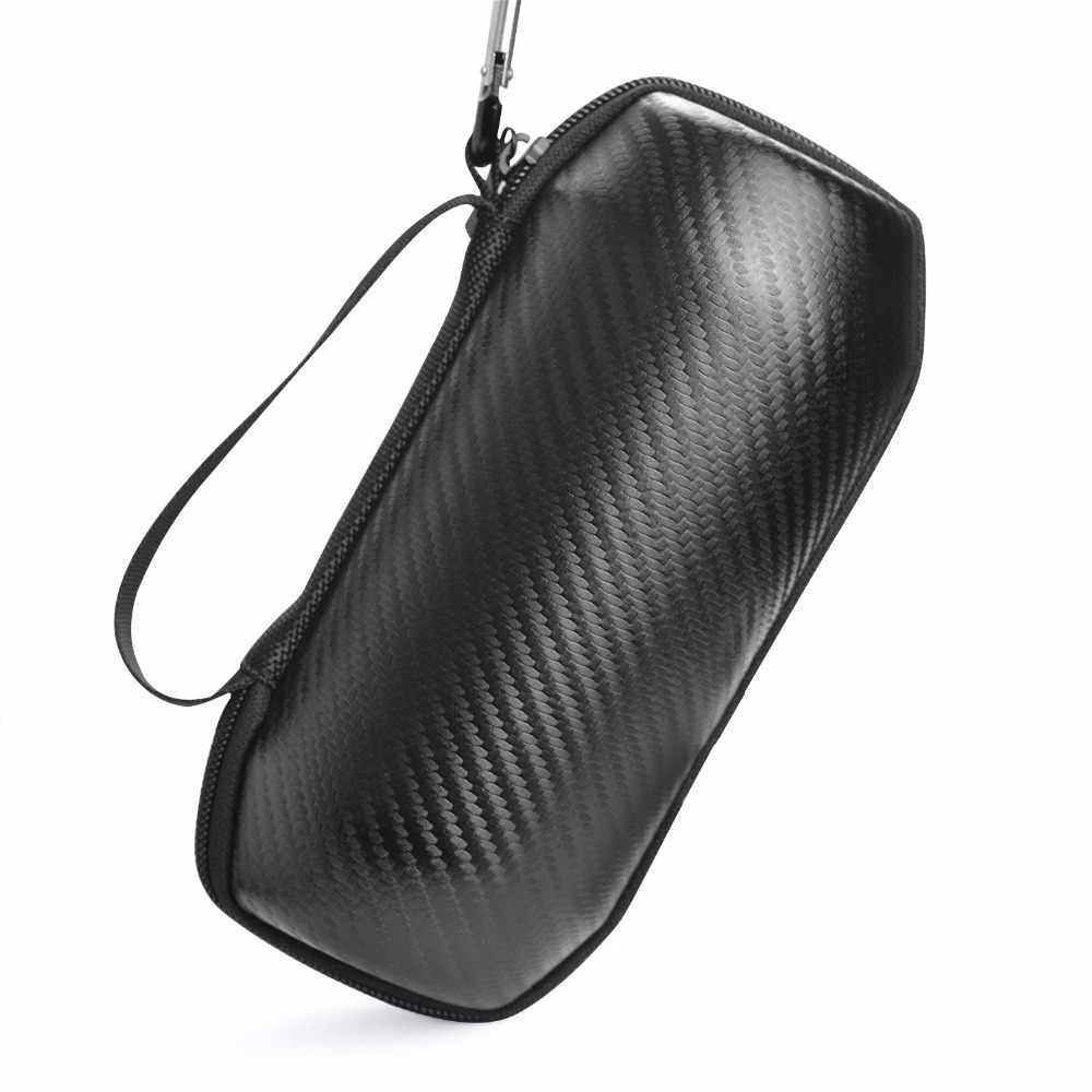 2018 nowe Top przenośny futerał do JBL Flip4 klapki 4 bezprzewodowy głośnik bluetooth etui ochronne etui EVA wysokiej jakości z włókna węglowego