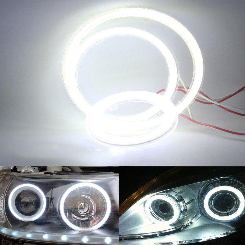 60mm Angel Eyes Halo Ring Car Led Fog Light Motorcycle Daytime Running Light Headlight Angel Eyes Fog Lamp Car Running Ligights