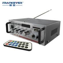 Frankever Hi Fi USB Car Audio Stereo Amplifier Motorcycle Car Boat MP3 MP4 CD Mini Digital