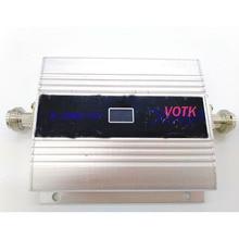 Amplificateur de Signal daffichage à cristaux liquides du répéteur 3G de signal de téléphone portable du propulseur 2100MHZ de signal de Offre Spéciale 3G avec ladaptateur de puissance