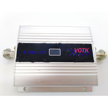 Sıcak satış 3G sinyal güçlendirici 2100MHZ cep telefon sinyal tekrarlayıcı 3G LCD ekran sinyal amplifikatörü güç adaptörü ile