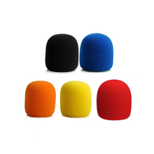 5pcs/lot Microphone Foam Mic Cover Sponge Professional Studio WindScreen Protective Grill Shield Soft Microphone Cap Replacement