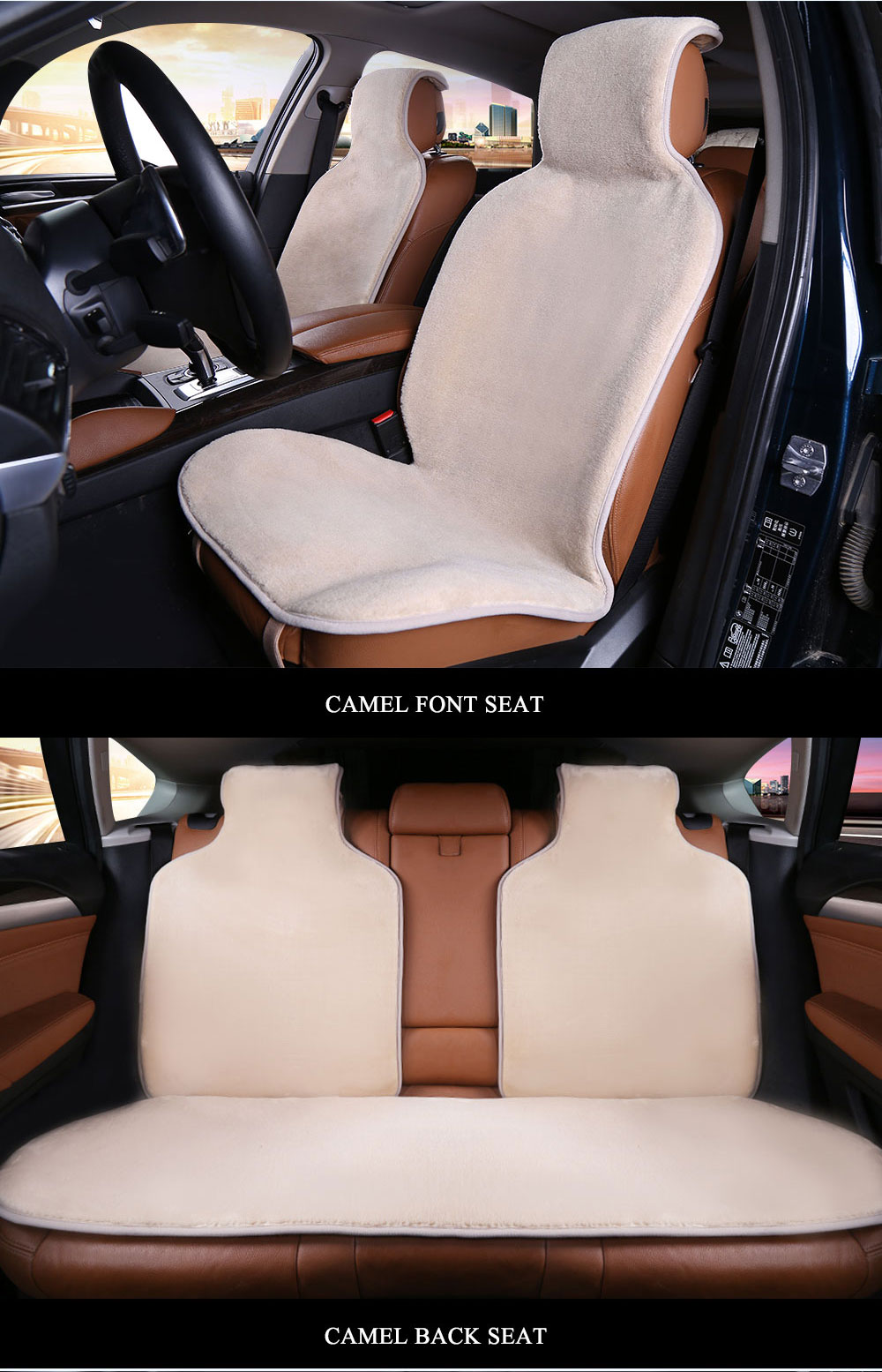 faux fur car seat covers universal siz for all types of seats Full Cover Set 7color seat cover.car cover seat for toyota auris