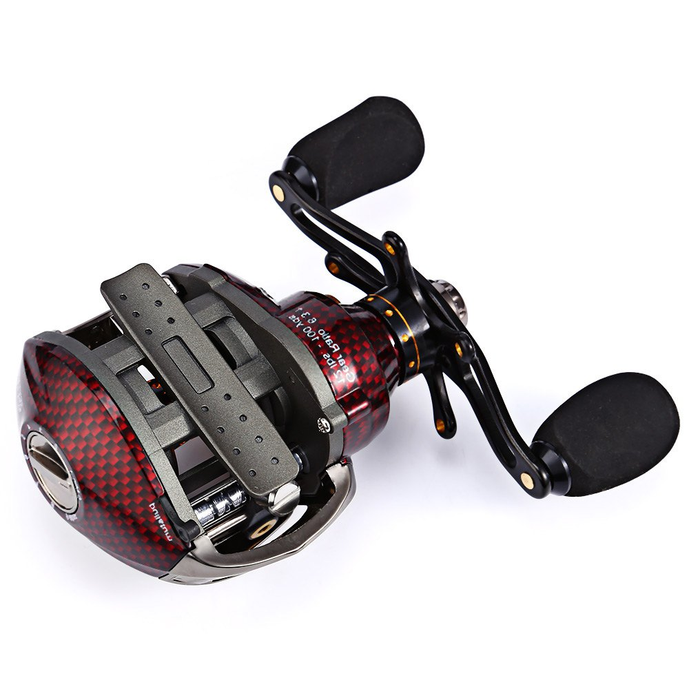 High Quality TS1200 Trulinoya Right Side Hand Bait Casting Foldable Handle Fishing Reel Ball Spinning Reel Bearings For Fishing kidkraft кукольный стульчик для кормления куклы kidkraft